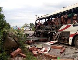 Vụ nổ xe tại Lào: Tạm giữ tài xế phục vụ công tác điều tra