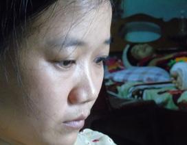 Vợ nhìn chồng hoại tử từng ngày trong bất lực