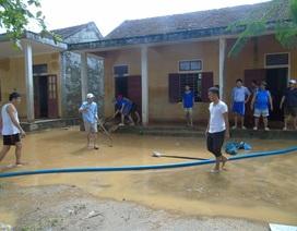 Quảng Bình: Học sinh chưa thể đến trường do ảnh hưởng của mưa lũ