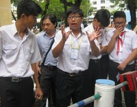 Nhiều sản phẩm độc đáo tại chung kết thi sáng tạo thanh thiếu nhi TPHCM