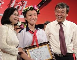 Viết về Đại tướng Võ Nguyên Giáp, nữ sinh giành giải Văn hay chữ tốt
