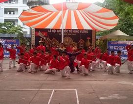 Trường học tổ chức Giỗ Tổ Hùng Vương