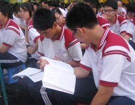 Học trò chạy đua theo lịch ôn thi tốt nghiệp