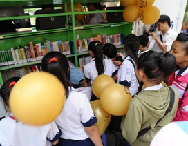 3.000 học sinh tiếp cận với thư viện số lưu động