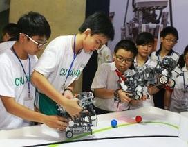 5 học sinh TPHCM được chọn thi Olympic Robot thế giới