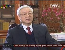 Clip Tổng Bí thư trả lời phỏng vấn nhân dịp xuân Giáp Ngọ