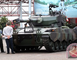 Việt Nam tham dự hội chợ triển lãm thiết bị quân sự Indonesia