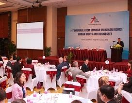 Việt Nam tổ chức hội thảo ASEM không chính thức về quyền con người