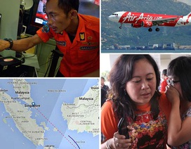 6 máy bay di chuyển cùng độ cao với phi cơ mất tích của AirAsia