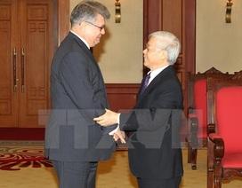 Tổng Bí thư: Việt Nam luôn coi trọng quan hệ truyền thống với Nga