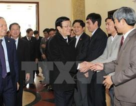 Chủ tịch nước Trương Tấn Sang thăm và làm việc tại Thanh Hóa