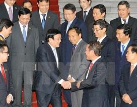 Chủ tịch nước gặp mặt 63 doanh nghiệp đạt Thương hiệu quốc gia