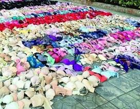 Kỳ lạ tên trộm lấy 2.000 bộ đồ lót phụ nữ