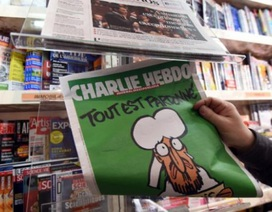 Bốn hiệu sách Bỉ bị đe dọa vì bán ấn phẩm của Charlie Hebdo