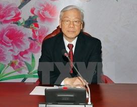Tổng Bí thư điện đàm với Tổng Bí thư, Chủ tịch Trung Quốc