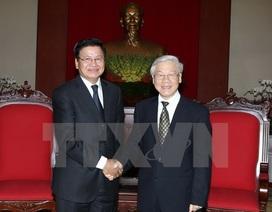 Lãnh đạo Đảng, Nhà nước tiếp Phó Thủ tướng Lào Thoonglun Sisulith