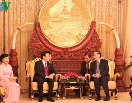 Chủ tịch nước kết thúc tốt đẹp chuyến thăm CHND Lào