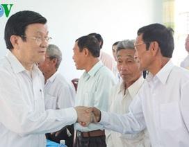Chủ tịch nước đề nghị hỗ trợ vốn cho ngư dân đóng tàu vươn khơi
