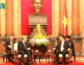 Chủ tịch nước tiếp Viện trưởng Viện Kiểm sát Nhân dân Tối cao Cuba
