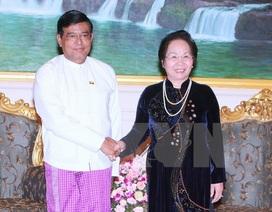 Phó Chủ tịch nước Nguyễn Thị Doan thăm chính thức Myanmar