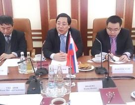 Việt Nam và Liên bang Nga tăng cường ngoại giao hữu nghị