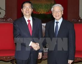 Tổng Bí thư tiếp Đoàn đại biểu cấp cao Bộ Công an Trung Quốc