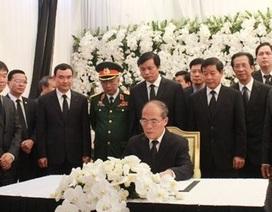 Chủ tịch Quốc hội viếng Chủ tịch Thượng viện Campuchia