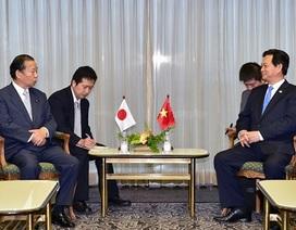 Thủ tướng đề nghị Nhật Bản ủng hộ lập trường của Việt Nam về an ninh khu vực