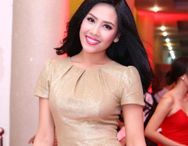 Nguyễn Thị Loan rạng rỡ sau cuộc thi Hoa hậu Thế giới