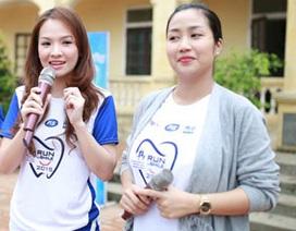 """""""Ốc"""" Thanh Vân tái xuất làm từ thiện cùng Đan Lê"""