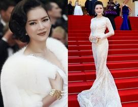 Lý Nhã Kỳ đẹp quyến rũ tại Cannes