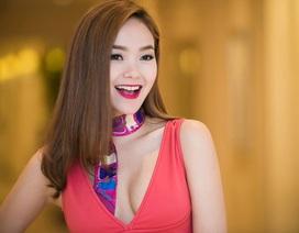 Minh Hằng đẹp rạng rỡ tại Hà Nội