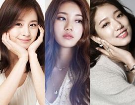 Những gương mặt sao nữ xinh đẹp nhất Hàn Quốc