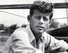 Ảnh hiếm của Tổng thống Mỹ John Kennedy thời thanh niên
