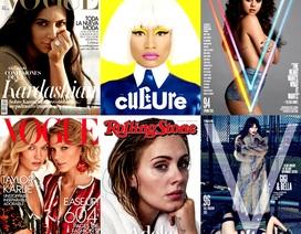 Những bìa báo quốc tế ấn tượng nhất năm 2015