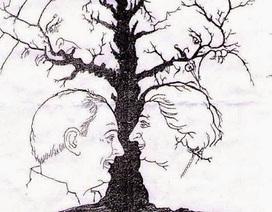 Đố vui: Bạn tìm thấy bao nhiêu gương mặt trong bức tranh này?
