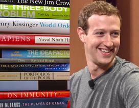 """23 cuốn sách khiến ông chủ Facebook đọc """"mê mải"""""""