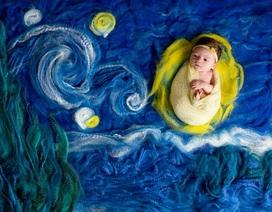 Ngộ nghĩnh những em bé bước ra từ tuyệt tác hội họa