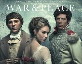 """Nga chê phim truyền hình """"Chiến tranh và hòa bình"""" của Anh - Mỹ"""