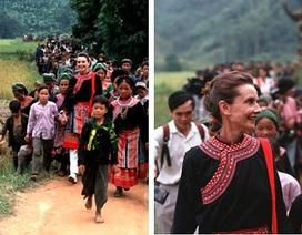 Chuyến đi huyền thoại của minh tinh đầu tiên đến với trẻ em Việt Nam