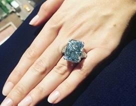 Viên kim cương xanh lớn nhất thế giới có giá… 555 tỉ đồng