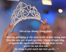 Dư âm đọng lại từ scandal Hoa hậu và tranh giả
