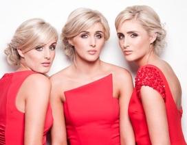 """Ba chị em người mẫu xinh đẹp giống nhau như… """"ba giọt nước"""""""