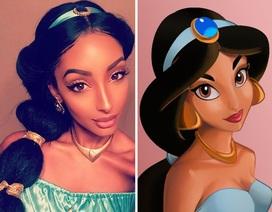 Sửng sốt trước nhan sắc cô gái giống hệt nàng công chúa Jasmine