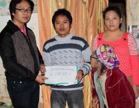 Hơn 60 triệu đồng đến với gia đình anh Phạm Văn Dung
