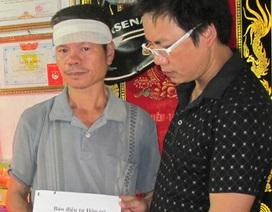 Quỹ Nhân ái trao 5 triệu đồng giúp đỡ gia đình em Nguyễn Văn Nam