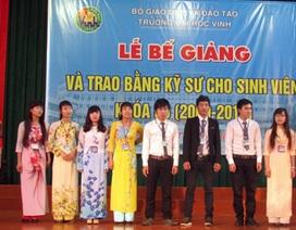 ĐH Vinh trao bằng kỹ sư cho hơn 500 sinh viên