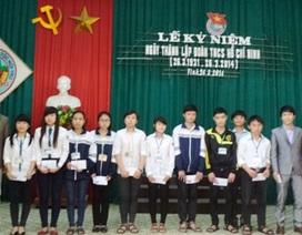 Trao học bổng Quỹ Thắp sáng ước mơ đến các em học sinh nghèo