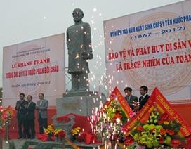 Kỷ niệm 145 năm ngày sinh chí sỹ yêu nước Phan Bội Châu