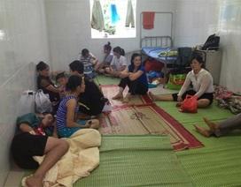 """Cuộc sống """"bỏ nhà"""" đi sơ tán của người dân vùng lũ Quảng Ninh"""